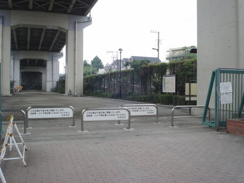 二子玉川西地区ふれあい広場の画像