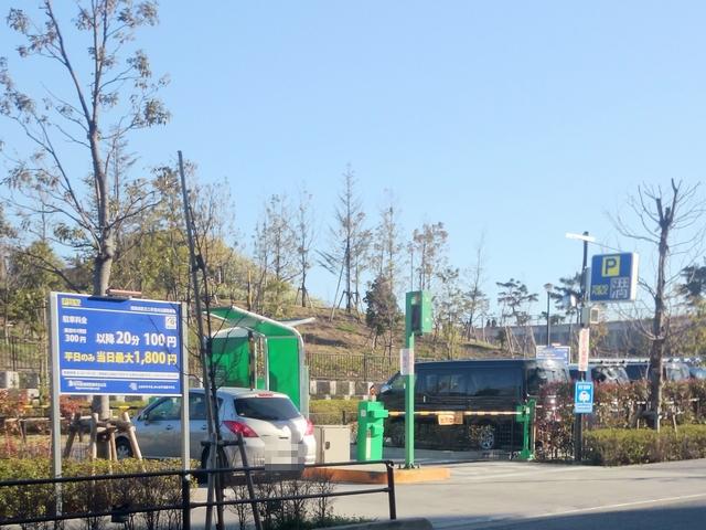 二子玉川公園駐車場